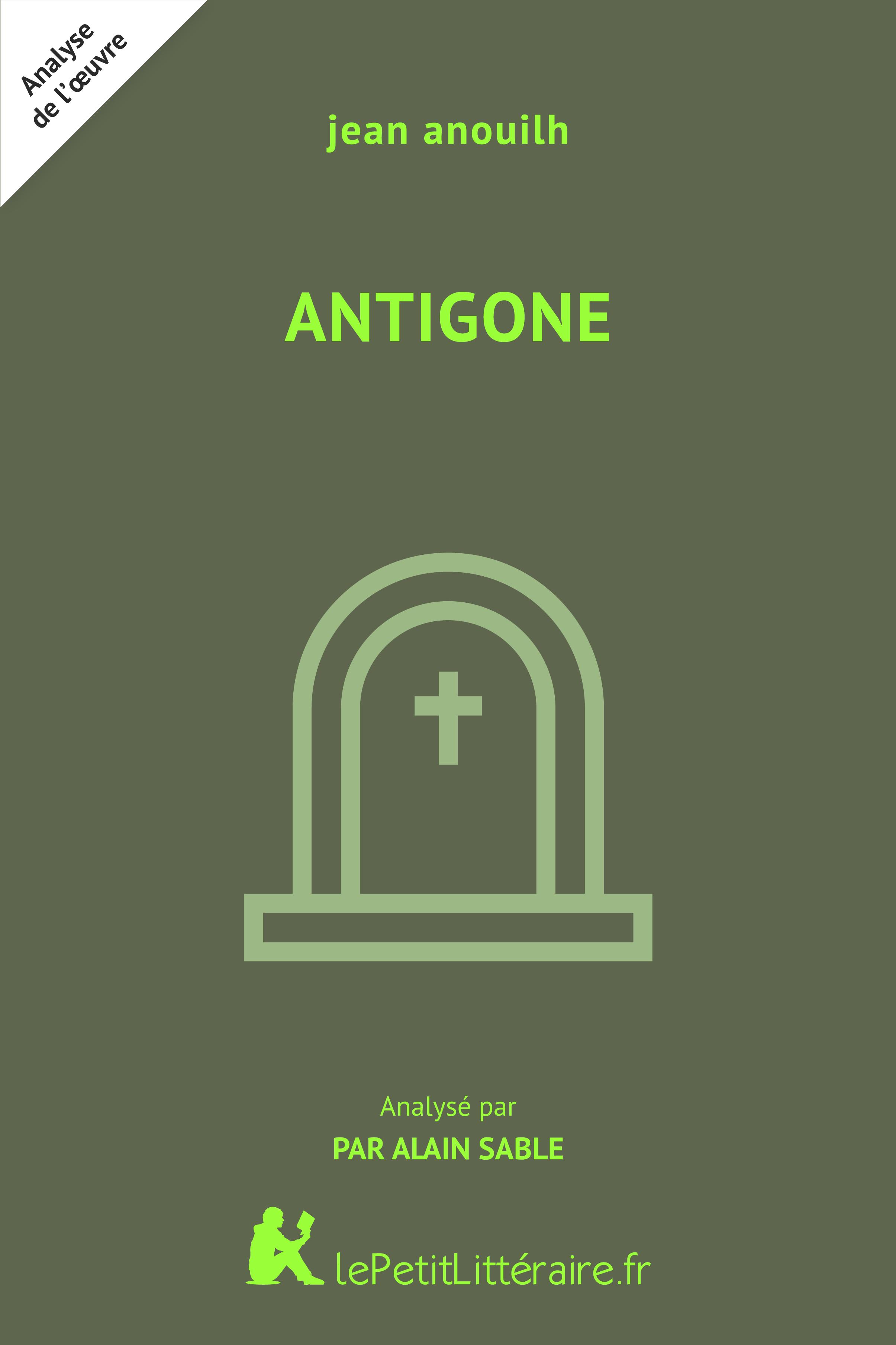 Analyse du livre :  Antigone