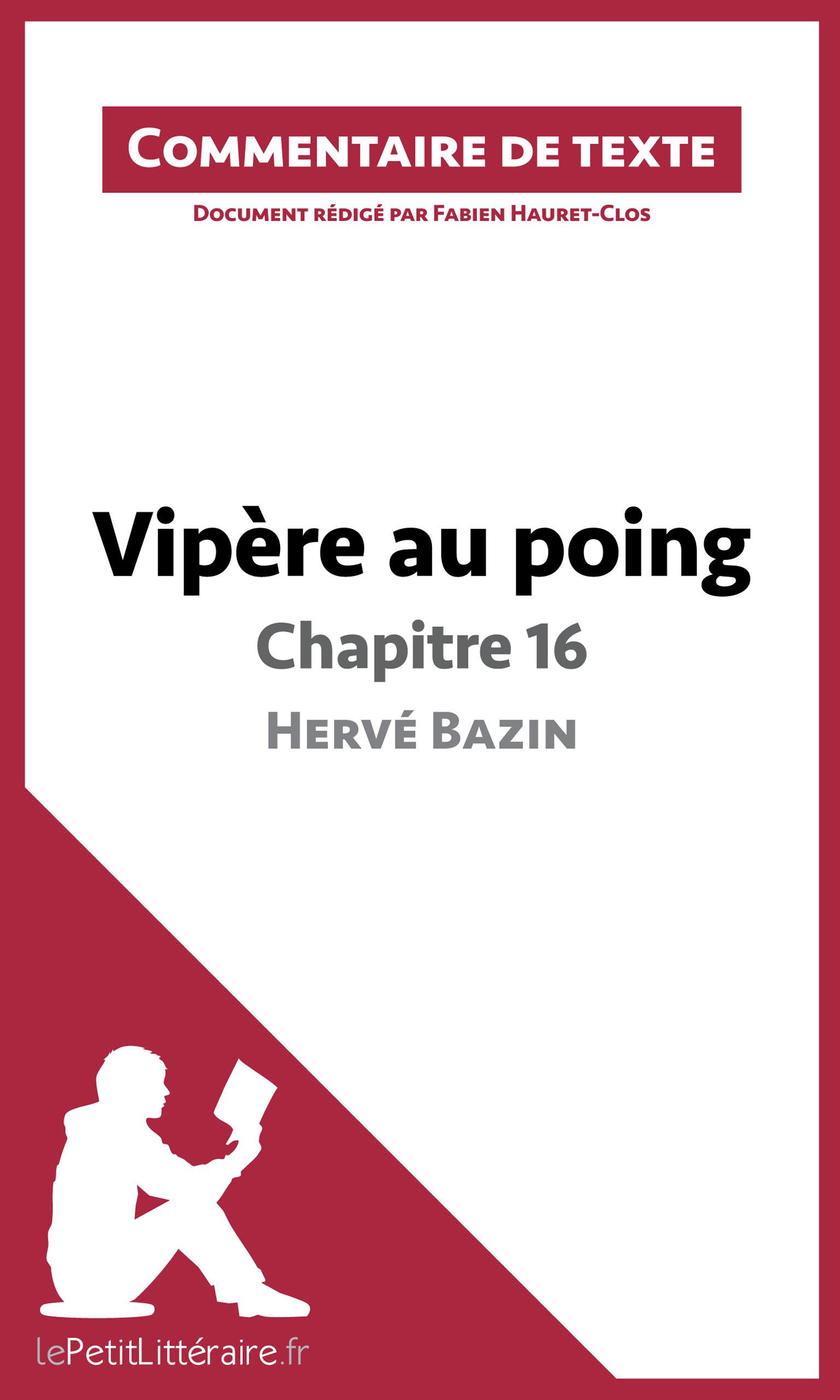 Le chapitre 16