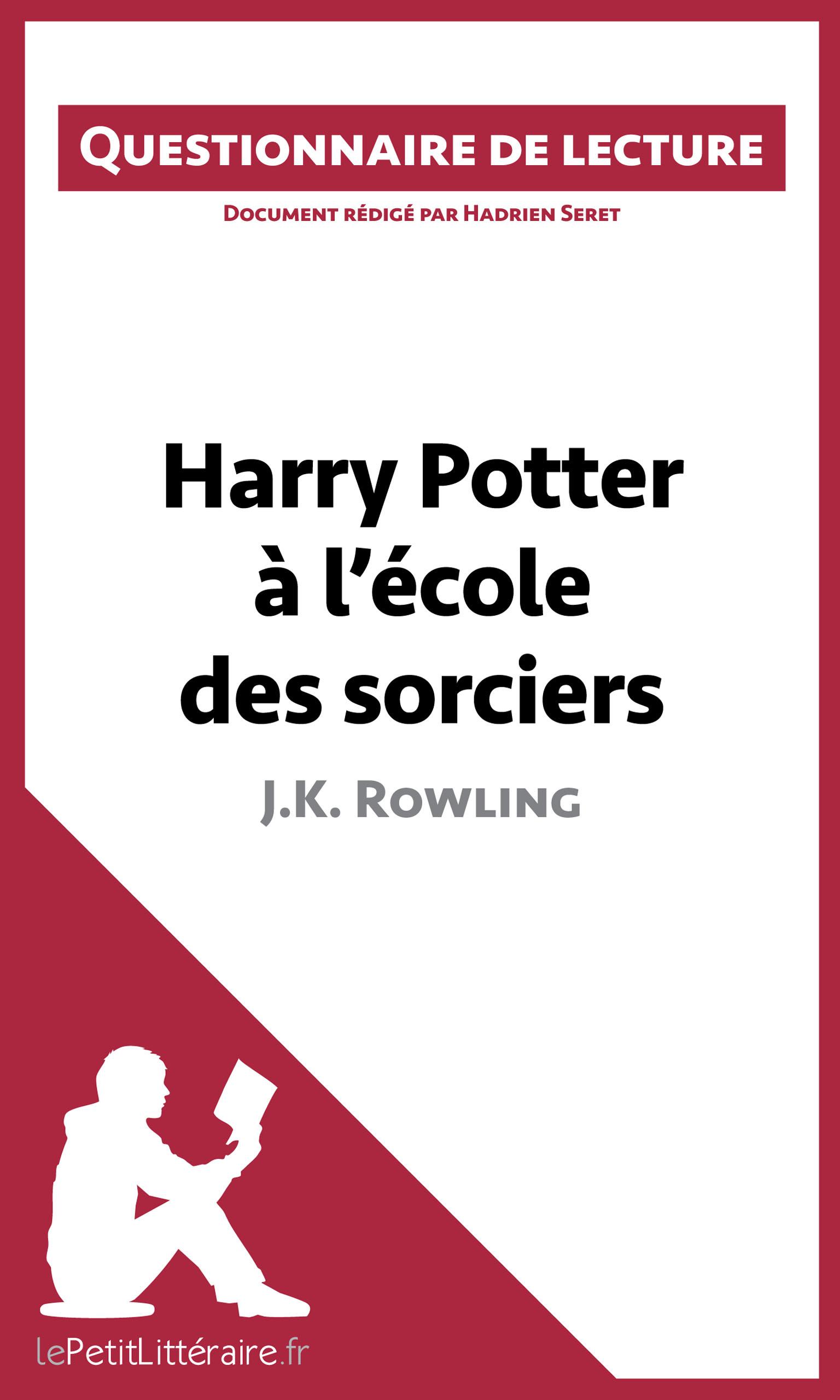 Lepetitlitteraire Fr Harry Potter A L Ecole Des Sorciers