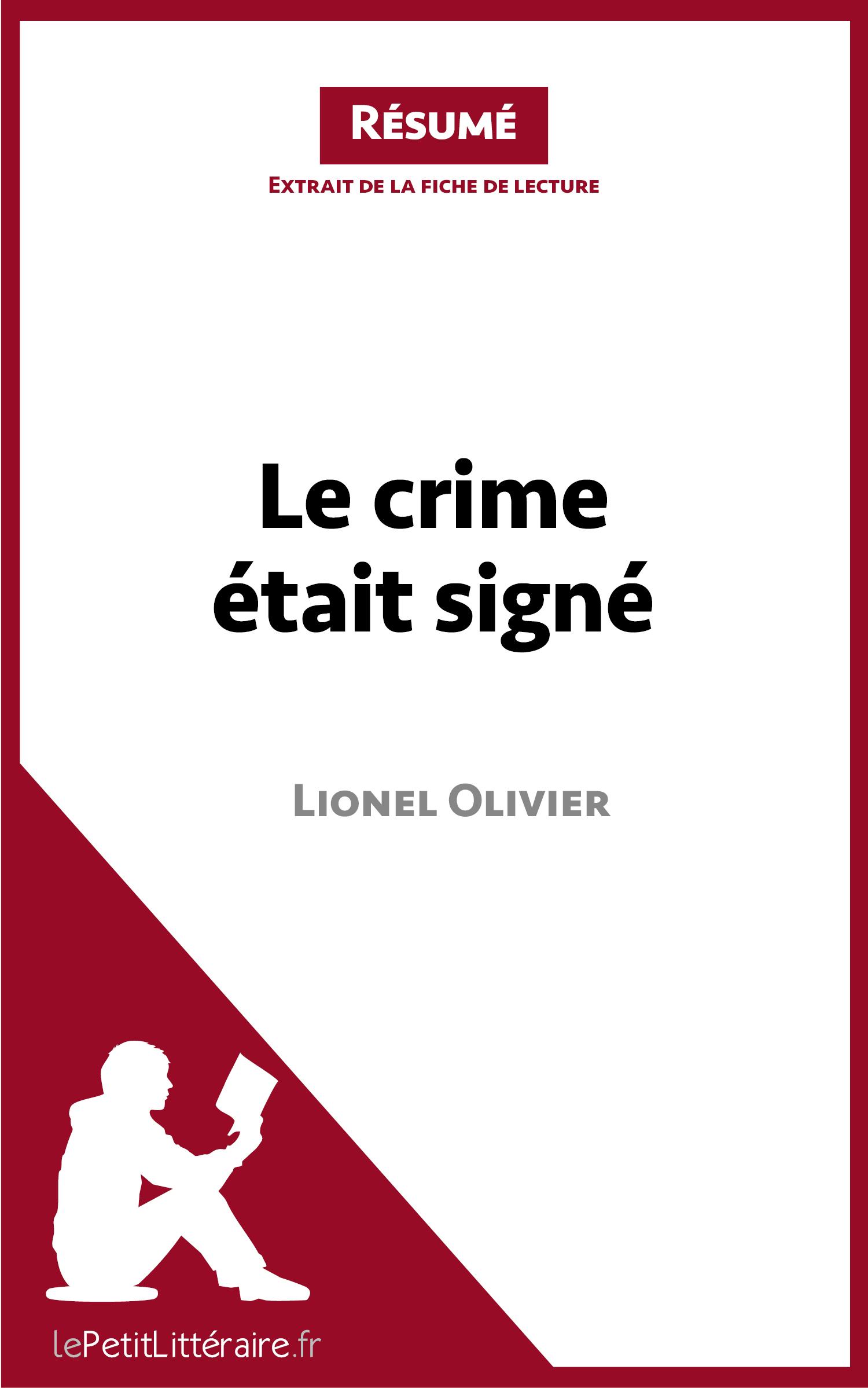 Le crime était signé