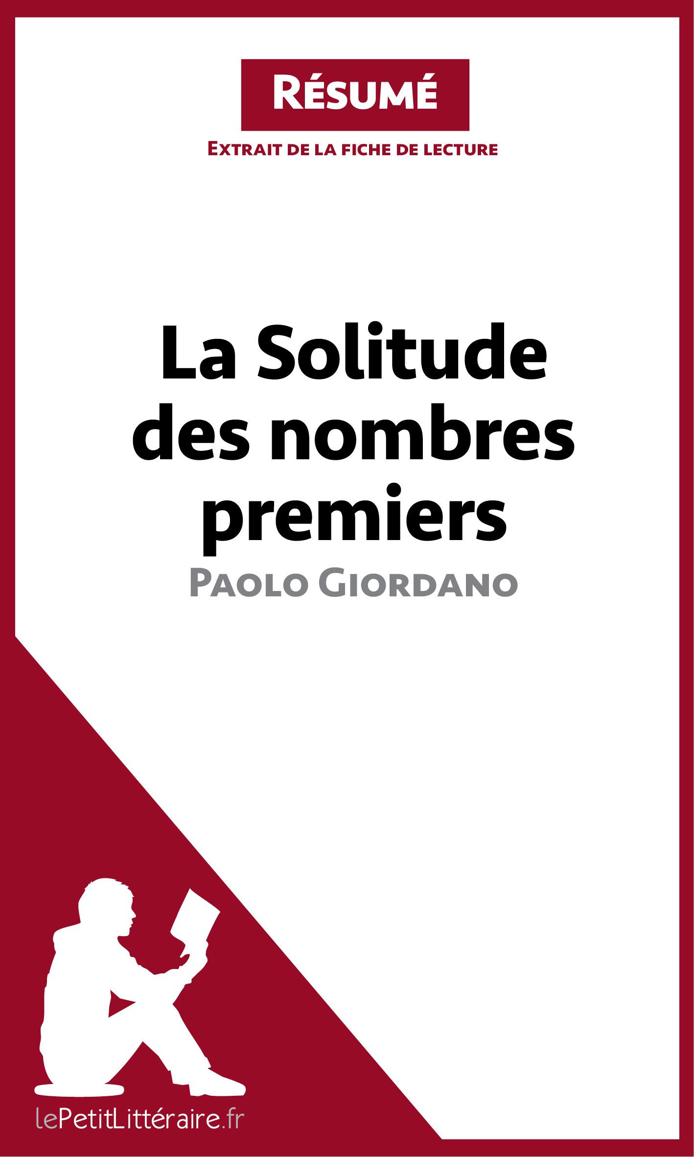 La Solitude des nombres premiers