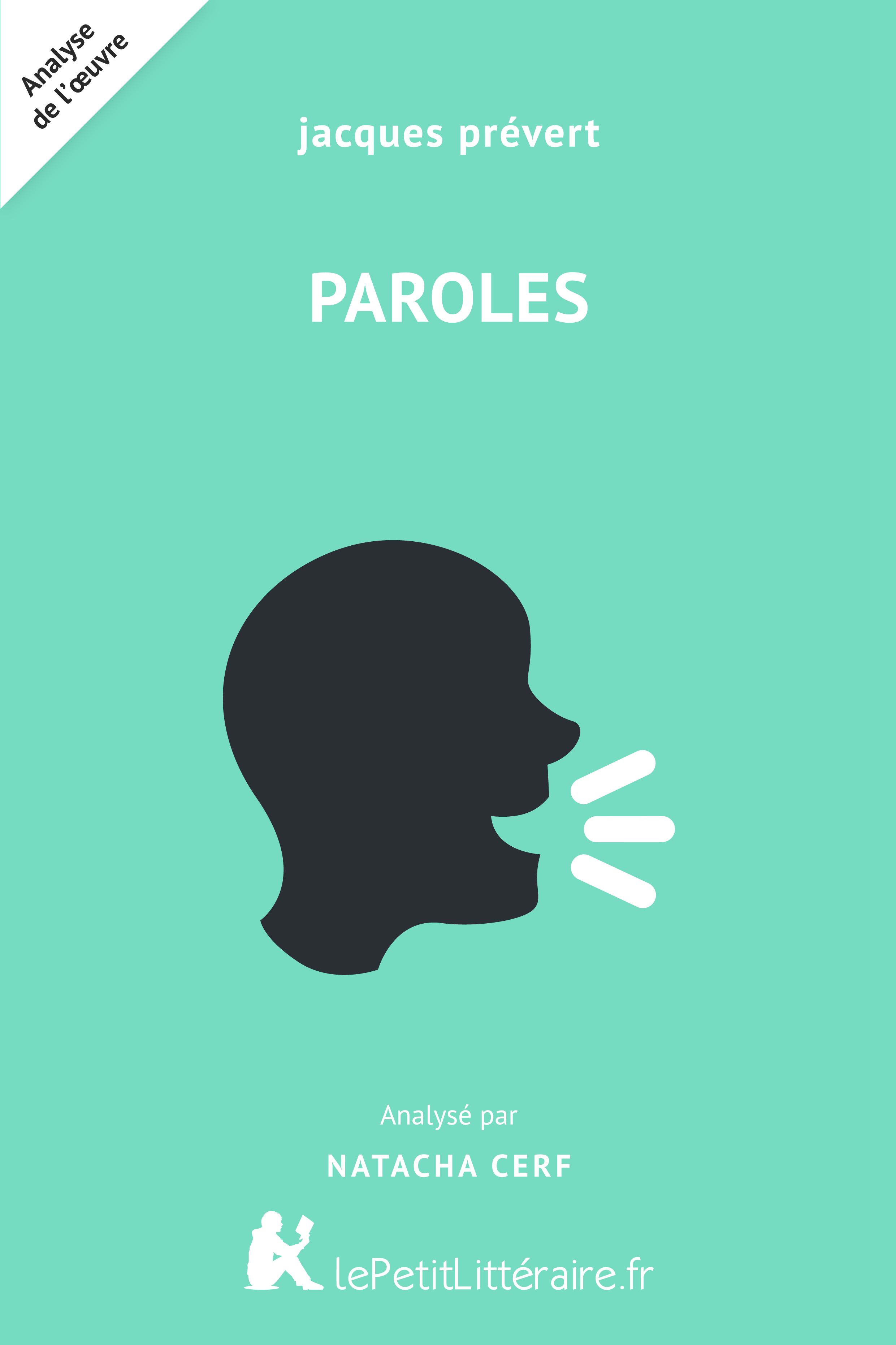 Analyse du livre :  Paroles