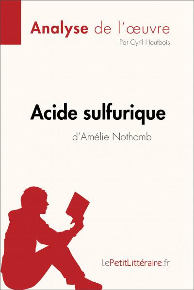 Analyse du livre :  Acide sulfurique