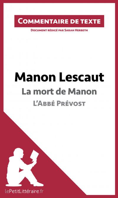 La mort de Manon