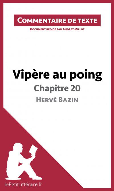 Le chapitre 20