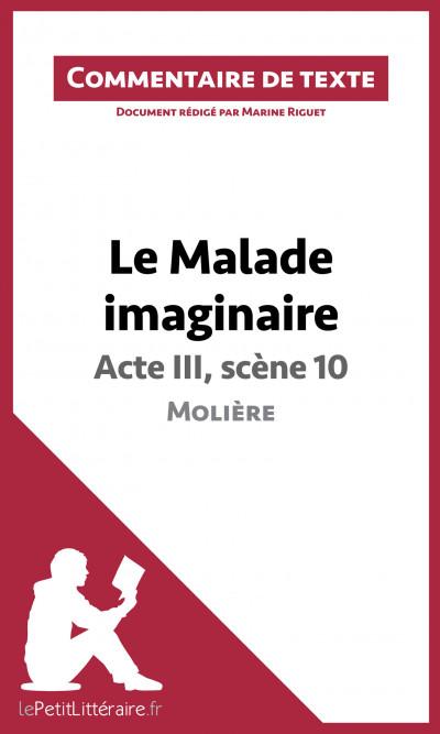 La scène 10 de l'acte III