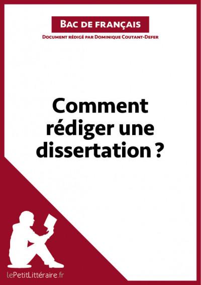Comment rédiger une dissertation ? Fiche de cours